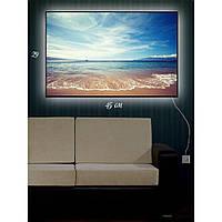 Картина с Led-подсветкой IdeaX Шум прибоя 29х45 см