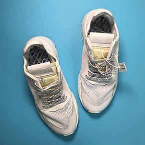 Кроссовки мужские Adidas Nite Jogger белые (Top replic), фото 3