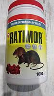 Ратимор 1кг парафиновые брикеты от грызунов (бромодиолон, 0,005%) БАНКА
