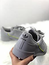 Кроссовки мужские Adidas Originals Continental Rascal серые (Top replic), фото 2