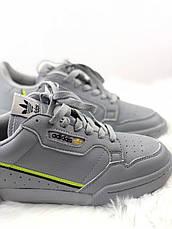 Кроссовки мужские Adidas Originals Continental Rascal серые (Top replic), фото 3