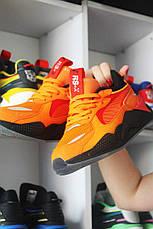 Кроссовки мужские Puma RS-X оранжевые (Top replic), фото 3