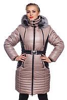 Куртка зимняя женская, удлиненная., фото 1