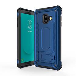 Чехол для Samsung Galaxy J6+ (2018) (J610F) TPU+PC, Deen Armor, под магнитный держатель