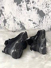 Кроссовки мужские Balenciaga Triple S Clear Sole черные (Top replic), фото 3
