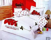Комплект постельного белья Le Vele сатин Strawberry