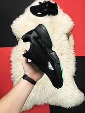 Кроссовки мужские Adidas Falcon черные (Top replic), фото 3