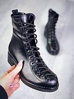 Ботинки Mon@ на шнуровке., фото 1