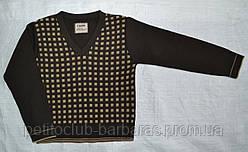 Пуловер для хлопчика з візерунком коричневий (р. 122-158 см) (InCity, Туреччина)