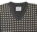 Пуловер для мальчика с узором коричневый (р. 122-158 см) (InCity, Турция), фото 2