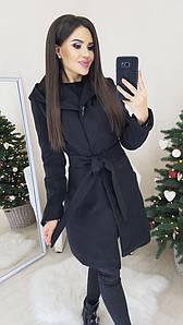 Пальто с кашемира на подкладке черного цвета L;M;S р-р.