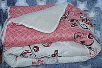 Одеяло на овчине открытое ткань поликотон. Евро 200*220