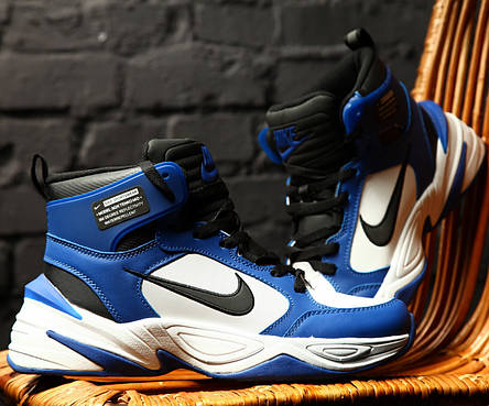 Кроссовки теплые мужские Nike M2K Tekno Winter синие (Top replic), фото 2