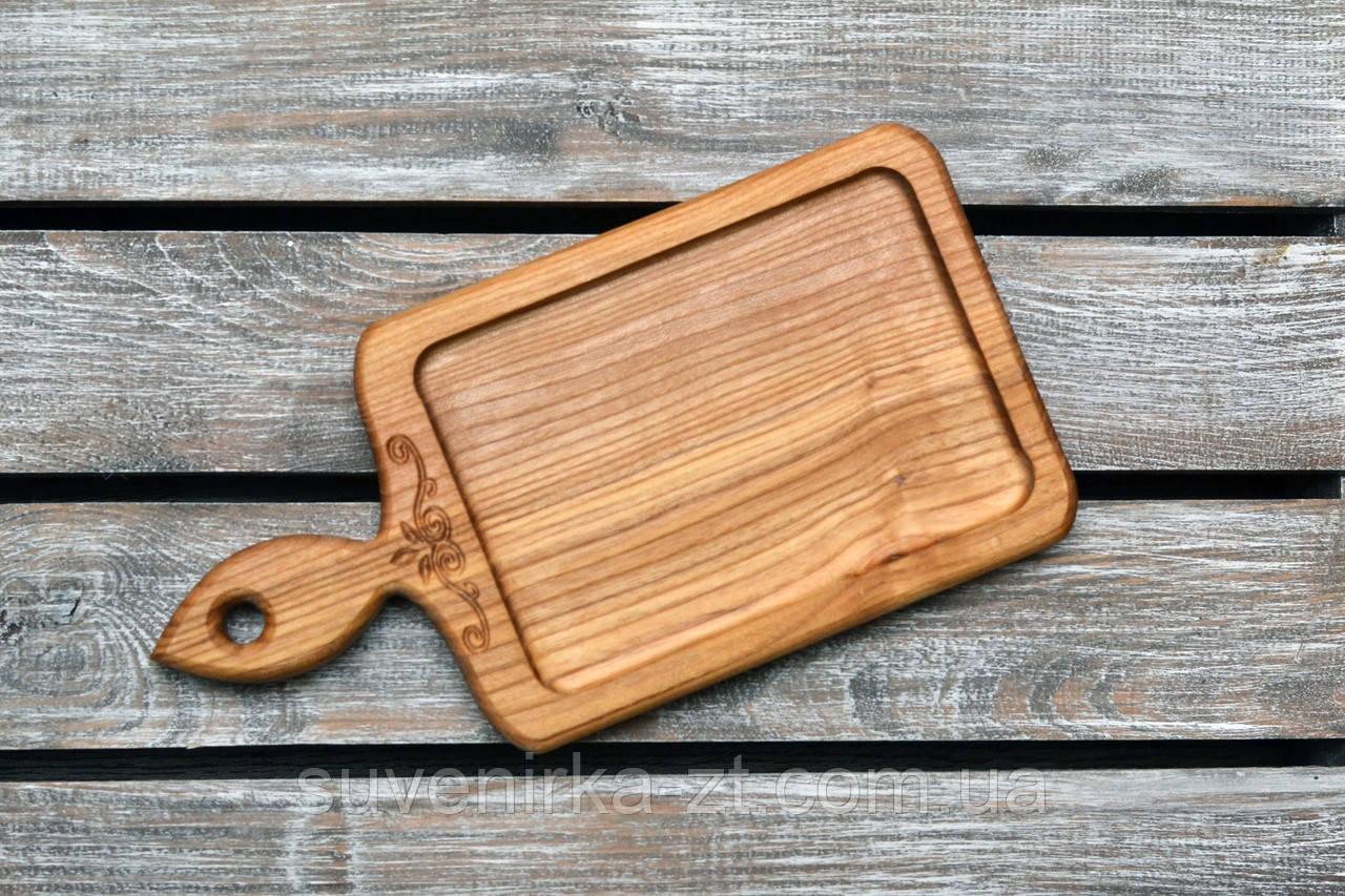 Деревянная менажница. Деревянные доски для подачи.Фигурная. (A01014)