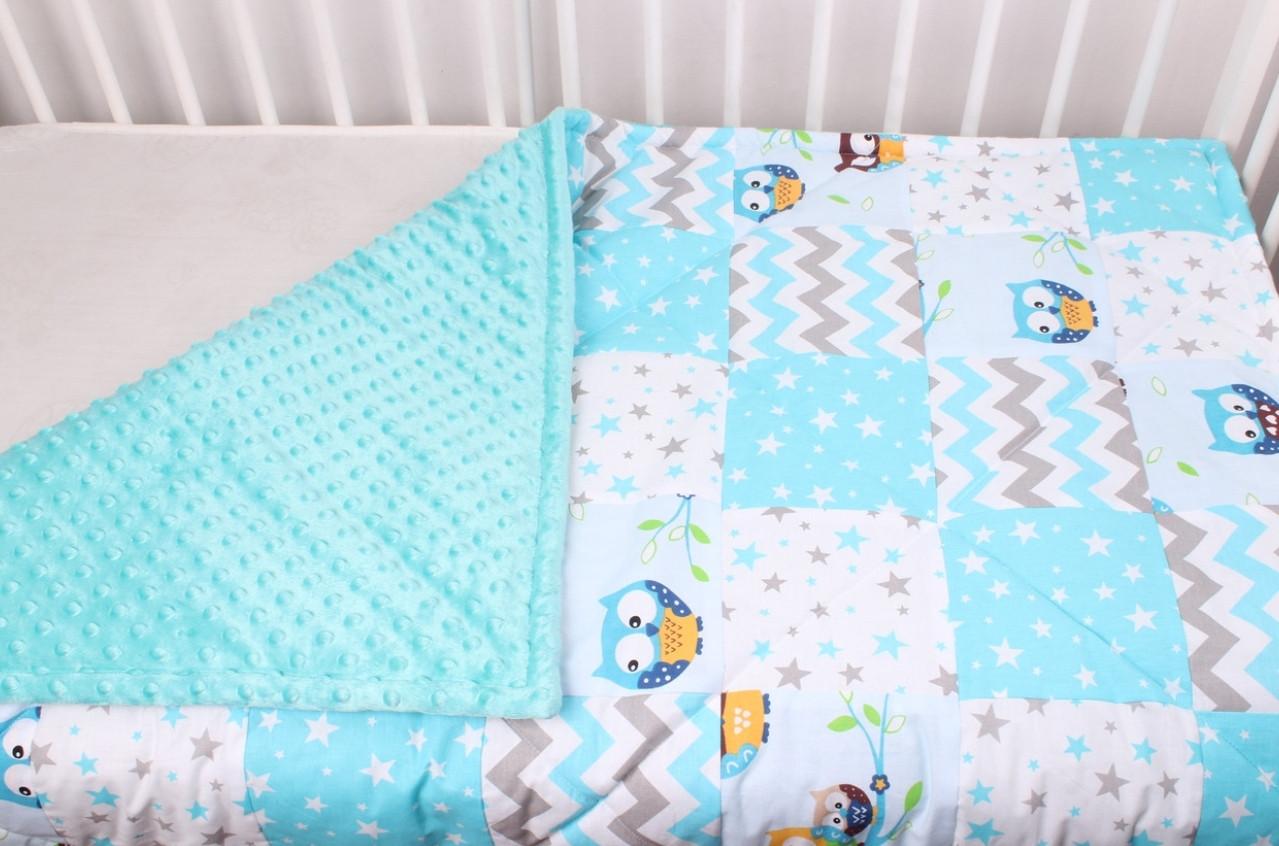 Одеялко Натуральное, хлопковое для новорожденного. 90*120