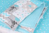Одеялко Натуральное, хлопковое для новорожденного. 90*120, фото 2