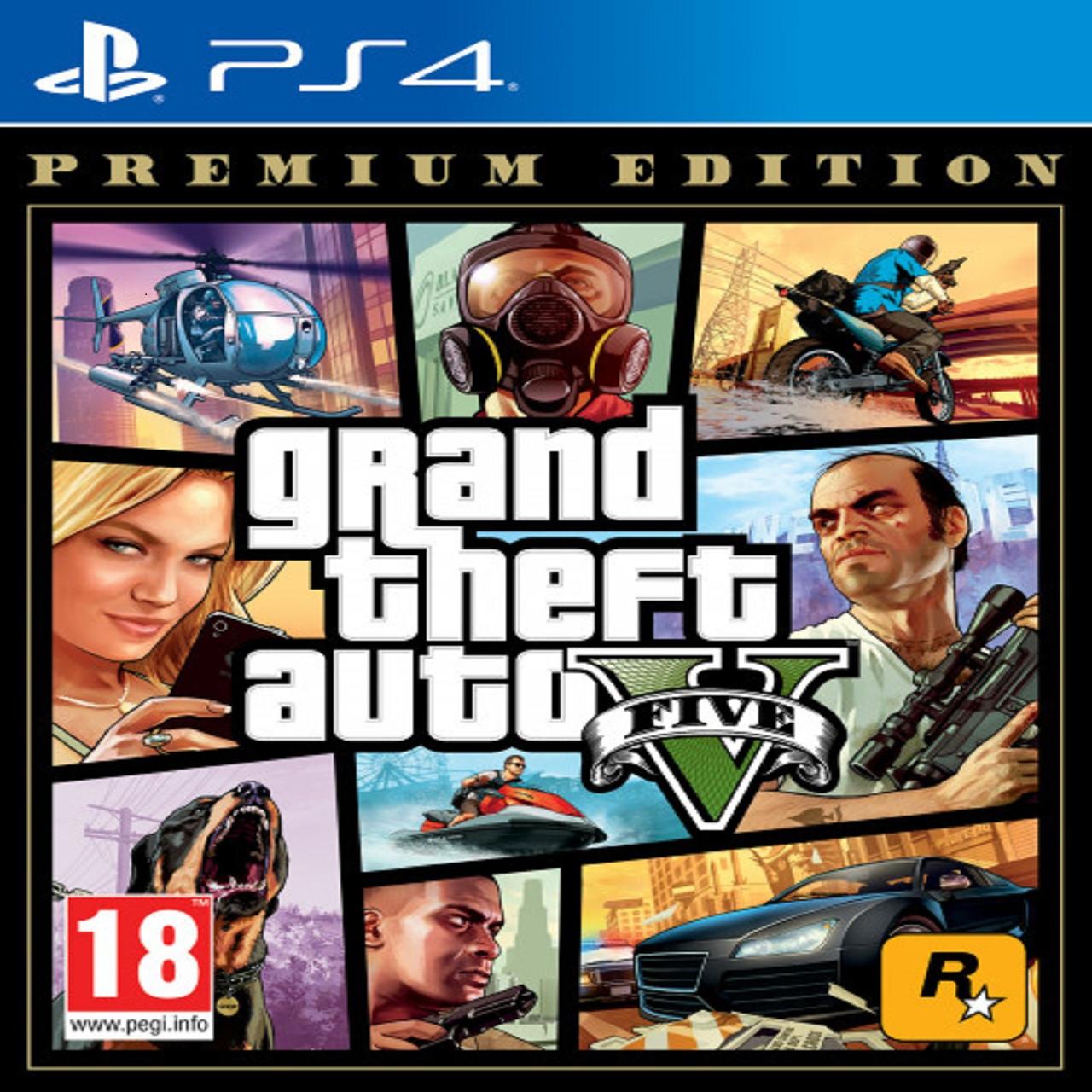 GTA V Premium Online Edition (російські субтитри) PS4