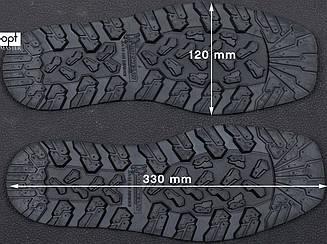 След подошвы обуви 8мм XA012 DEFENCE MICHELIN (Франция), р.45-46, цв. черный (black)
