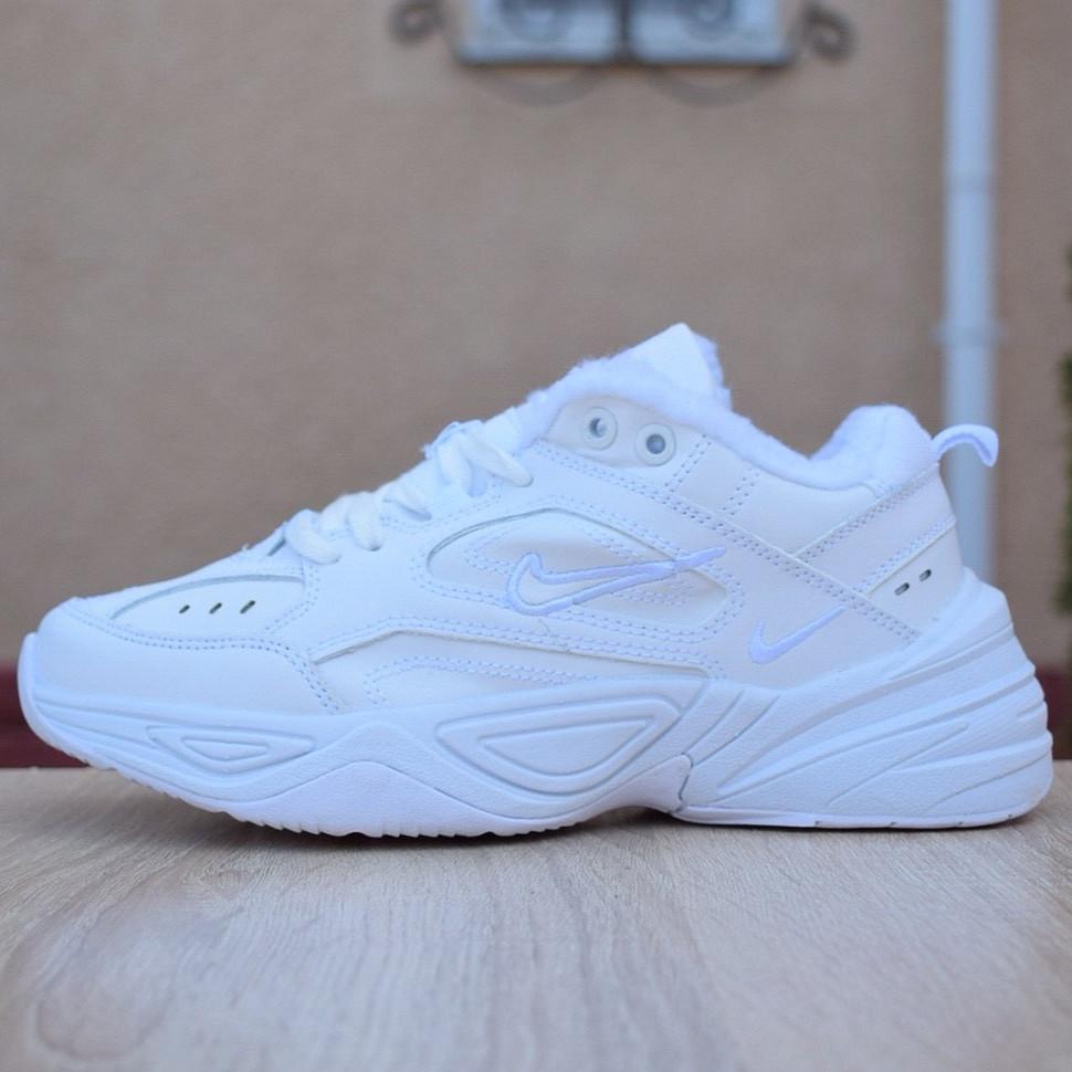 Кроссовки женские мужские Nike M2K Tekno белые (Top replic)