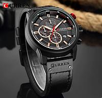 Стильные мужские часы Curren Premium DARK