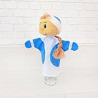 Снегурочка кукла игрушка на руку. Кукольный театр 30см. Новый Год 2020