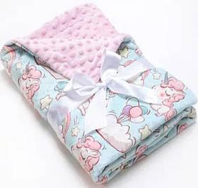 Ковдру для новонародженого. 90*120.