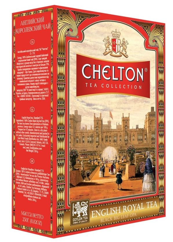 Чай Челтон Английский королевский черный листовой 100 гр.