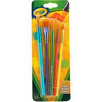 Набор кистей Crayola для рисования красками 5 шт