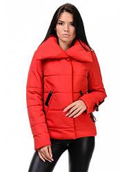 Стильная молодежная куртка прямого силуэта «ЛЮСИ» Разные цвета