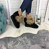 Угги женские низкие черные натуральный замша //В НАЛИЧИИ ТОЛЬКО 40 41р, фото 10