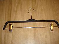 Вешалка деревянная в силиконе с прищепками, фото 1