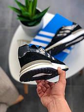 Кроссовки женские Adidas ZX 500 RM черные-камуфляж (Top replic), фото 2