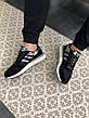 Кроссовки женские Adidas ZX 500 RM черные-камуфляж (Top replic), фото 4
