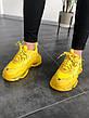 Кроссовки женские Balenciaga Triple-S Clear Sole Sneaker-желтые (Top replic), фото 2