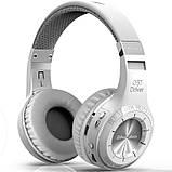 Беспроводные bluetooth наушники-гарнитура Bluedio H Turbine 36 часов музыки, фото 5