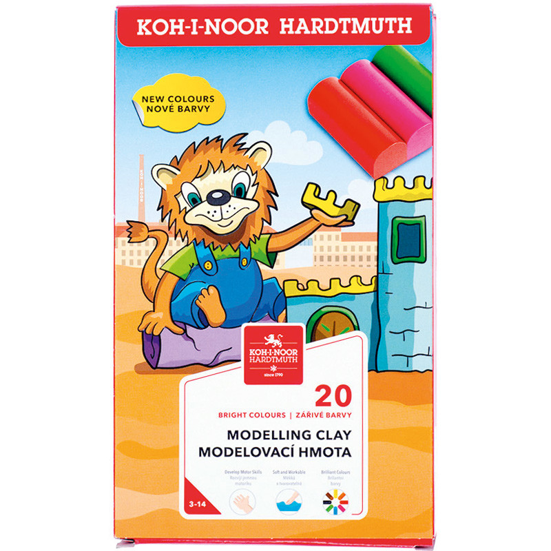 Пластилин Львенок KOH-I-NOOR