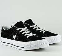 Кроссовки\кеды женские Converse x Tyler The Creator Golf le Fleur One Star OX черные-белые (Top replic)