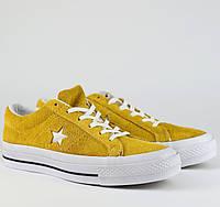 Кроссовки\кеды женские Converse x Tyler The Creator Golf le Fleur One Star OX желтые (Top replic)