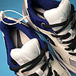 Кроссовки женские Nike M2K Tekno белые-синие (Top replic), фото 4