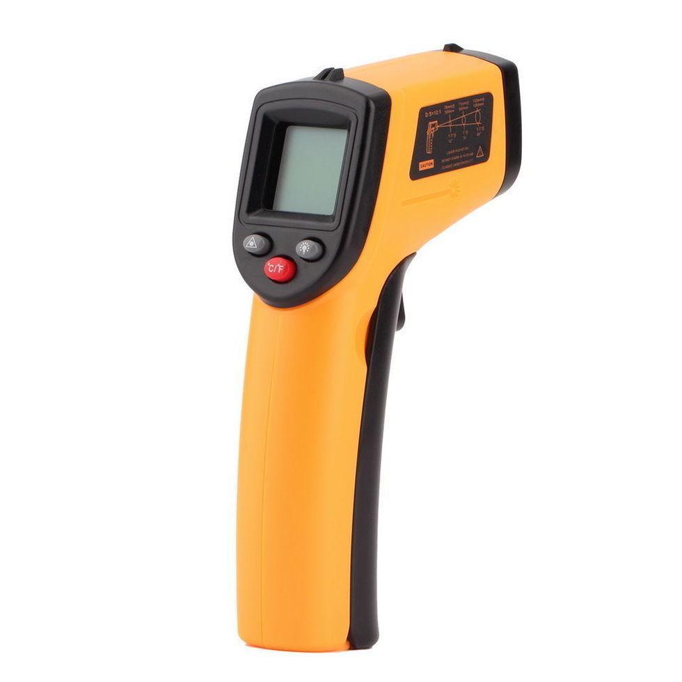 Бесконтактный электронный цифровой инфракрасный термометр VKTECH GM320 380 градусов