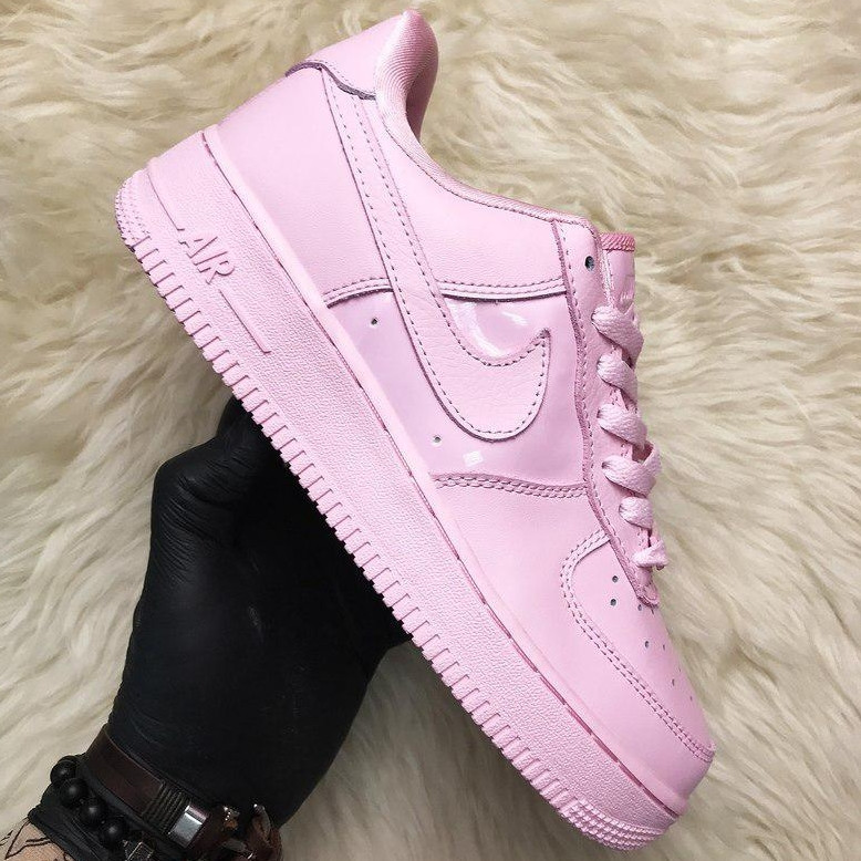 Кроссовки женские Nike Air Force Low розовые (Top replic)