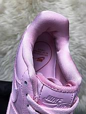 Кроссовки женские Nike Air Force Low розовые (Top replic), фото 3
