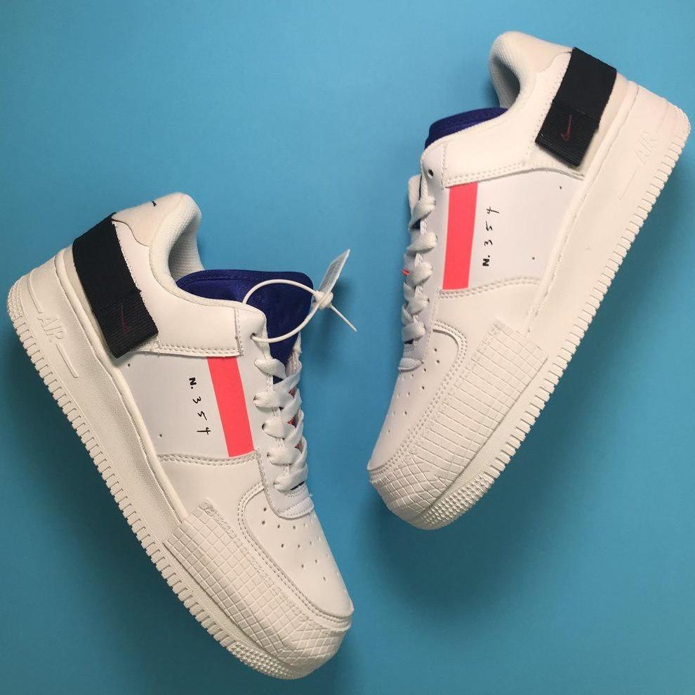 Кроссовки женские Nike Air Force 1 Orbit белые (Top replic)