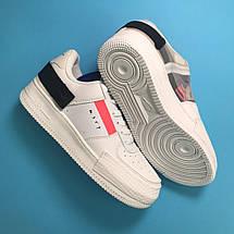 Кроссовки женские Nike Air Force 1 Orbit белые (Top replic), фото 2