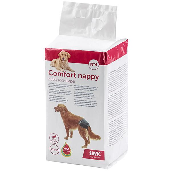 Памперсы для собак Savic Comfort Nappy 40-48 см 12 шт.