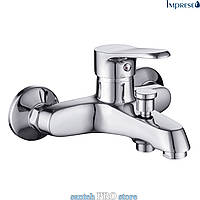Смеситель для ванны IMPRESE WITOW, хром, 35мм.