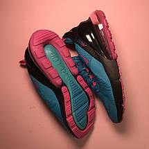 Кроссовки женские Nike Air Max 270 синие-розовые (Top replic), фото 2