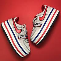 Кроссовки женские Nike Zoom Vandal 2K серые (Top replic)
