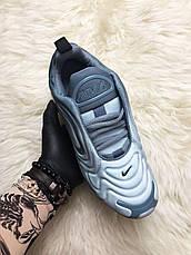 Кроссовки женские Nike Air Max 720 серые (Top replic), фото 2