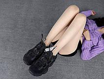 Кроссовки женские Adidas Yeezy Boost 500 Utility черные (Top replic), фото 2